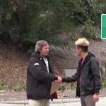 【動画】ホームレスの人に1万円を上げた結果